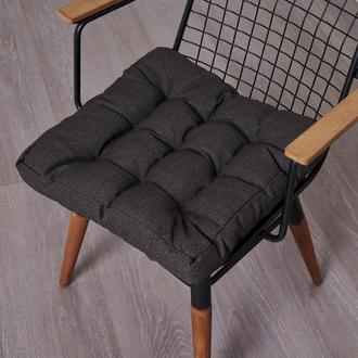 Nuvomon Milpa Sandalye Minderi - Füme - 45x45 cm