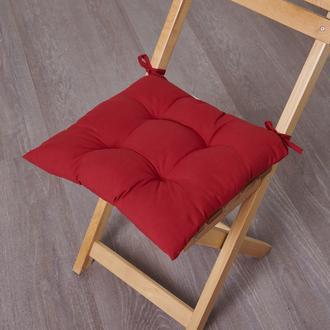 Nuvomon Micro Sandalye Minderi - Kırmızı - 40x40 cm