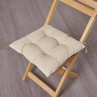 Nuvomon Micro Sandalye Minderi - Bej - 40x40 cm