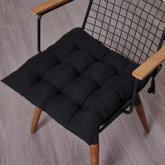Nuvomon Micro Sandalye Minderi - Siyah - 50x50 cm