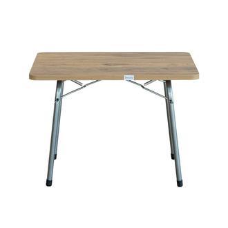 Byeren Ceviz Model Katlanır Pratik Piknik Masası - 60x80 cm