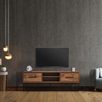 Just Home Lidya 140 cm Modern Tv Ünitesi - Atlantik Çam