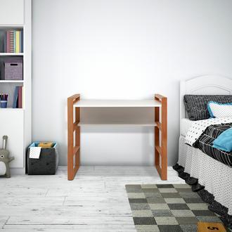 Just Home Vilne Çalışma Masası - Beyaz