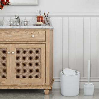 Freehome Kare 2'li Banyo Aksesuar Seti - Beyaz