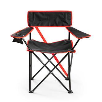 Napoli Fox Katlanabilir Kamp Sandalyesi - Siyah