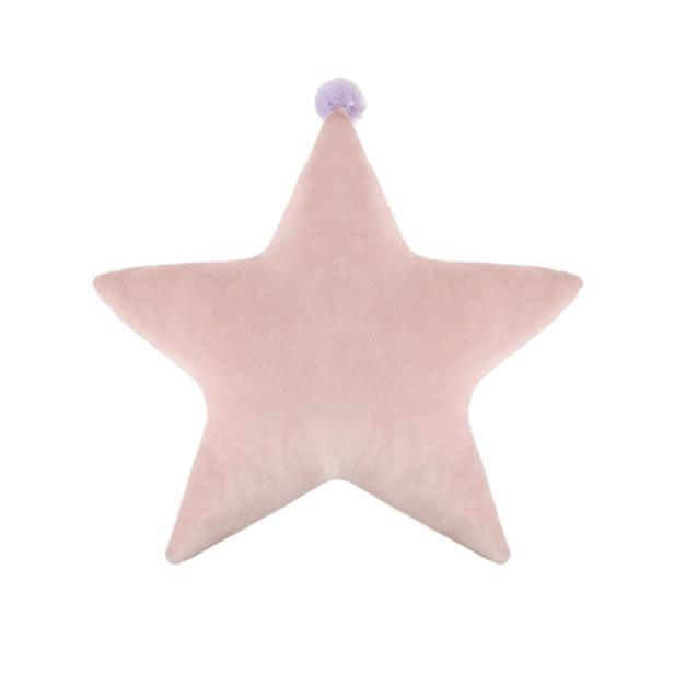 Selay Toys Sweet Figürlü Yastık - Pembe - 40 cm