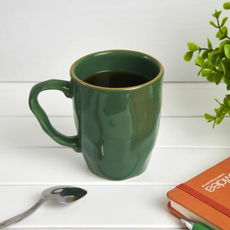 Keramika Organik Kupa - Yeşil