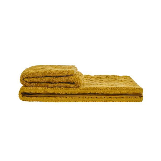 Nuvomon Pelas 2'li Banyo Havlu Seti - Sarı
