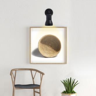Safir Light MR 208 Spot Aplik - Siyah