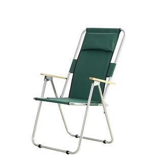 Simple Living Ahşap Kollu Geniş Katlanır Kamp, Plaj ve Piknik Sandalyesi - Yeşil
