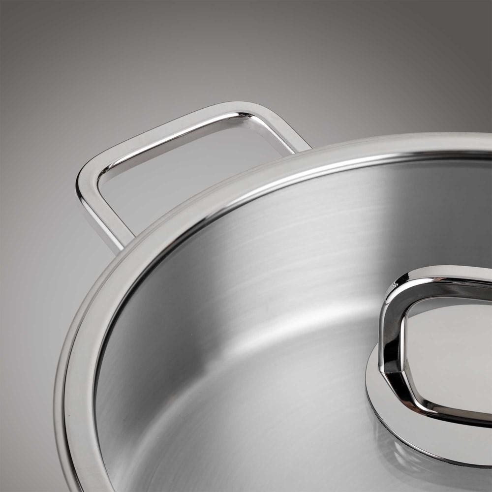 Nehir Silver Trend Derin Tencere - 22 cm