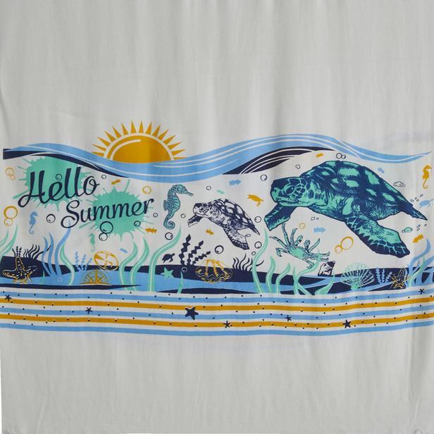 Nuvomon Summer Baskılı Peştamal 90x170 cm