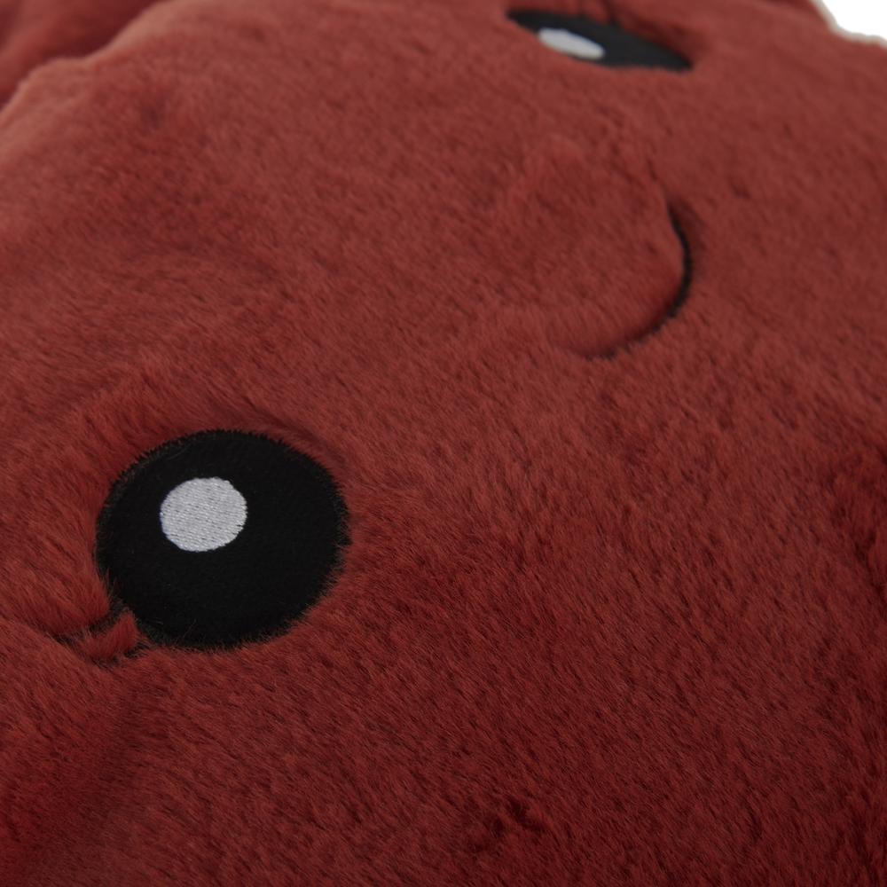 Selay Toys Crab Figürlü Yastık - Kiremit - 30 cm