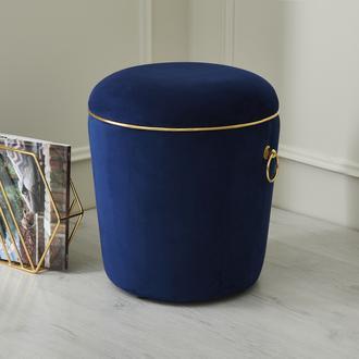 Just Home Luxury Puf - Lacivert