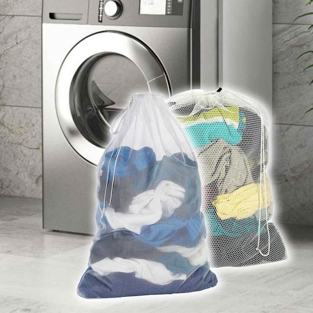 Alas Çamaşır Yıkama Filesi - Beyaz - 60x40 cm