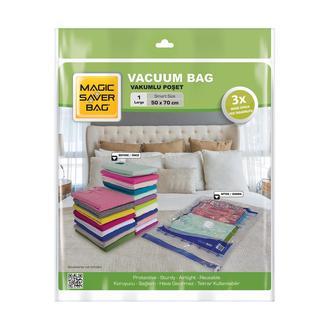 Magic Saver Bag Tekli Vakumlu Poşet - L (50x70cm)