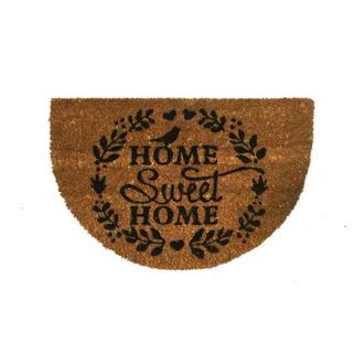 Giz Home Home Sweet Home Başak Koko Kapı Önü Paspas - 40x60 cm