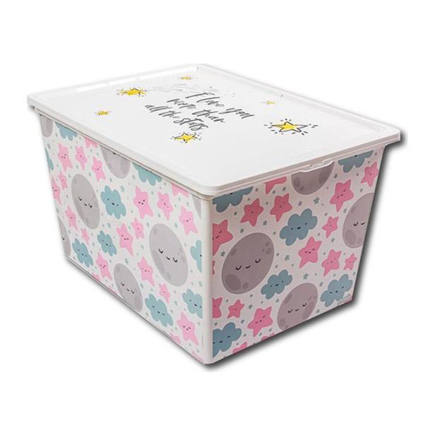 Qutu Trend Box Cute Sky Oyuncak Kutusu