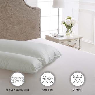 Altınbaşak Ortopedik Yastık (1000 gr ) - 50x70 cm - Beyaz