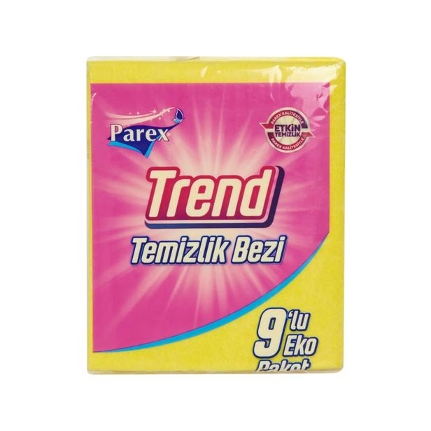 Parex Trend 9'lu Temizlik Bezi