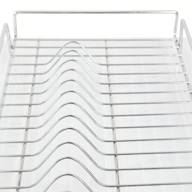 Vomex Tezgah Üstü Tabaklık ve Bardaklık (Krom) - 28x41x7 cm