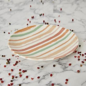 Tulu Porselen Bolero Servis Tabağı-15 cm