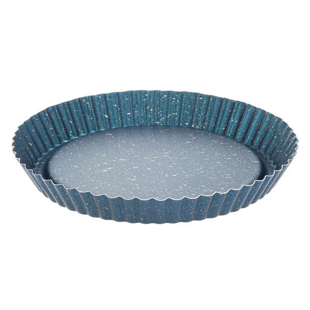 Mehtap Tart Kalıbı - Mavi / 28 cm