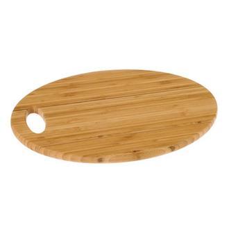 Ün-Ev Bambu Oval Sunum Tabağı - 32 cm