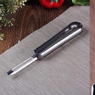 Ün-Ev Paslanmaz Çelik Sebze Oyucu - 17 cm