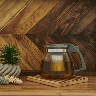 Tohana Bitki Çayı Demliği - Gri/900 ml.