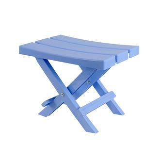 Saban Katlanır Bahçe Balkon ve Piknik Taburesi - Açık Mavi
