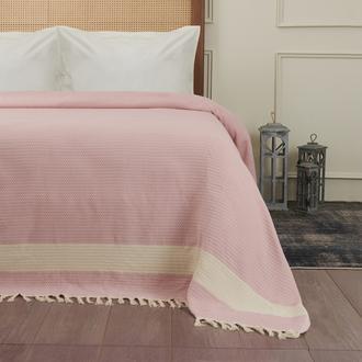 Nuvomon Harriet Çift Kişilik Yatak Örtüsü - Pembe - 220x235 cm