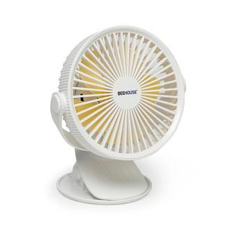 BeeHouse Wt-15 Şarjlı ve Klipsli Pratik Fan