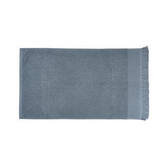 Nuvomon Marlo Yüz Havlusu - Mavi - 50x80 cm