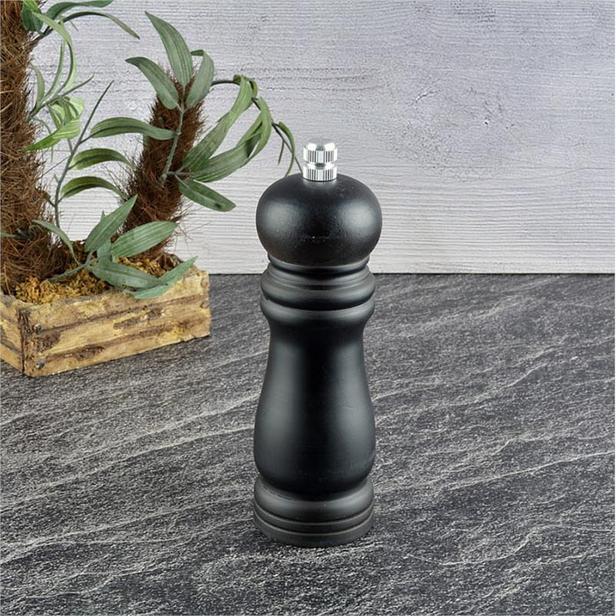 Tohana Ahşap Değirmen - Siyah - 15 cm