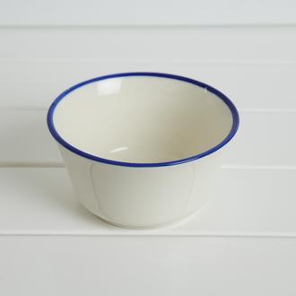 Tulu Porselen Asena Kase - Lacivert/10 cm