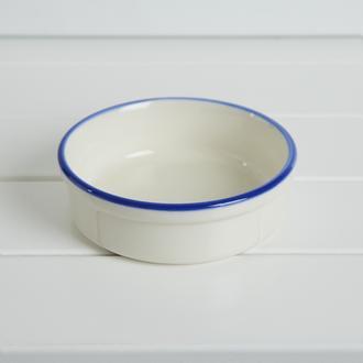Tulu Porselen Fırın Kabı - Lacivert - 10 cm