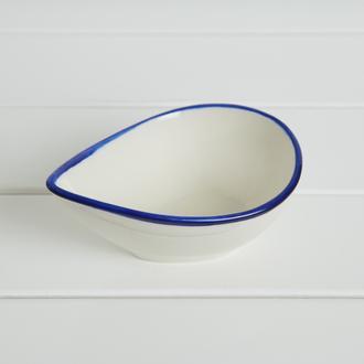 Tulu Porselen Blue Sosluk - 11 cm