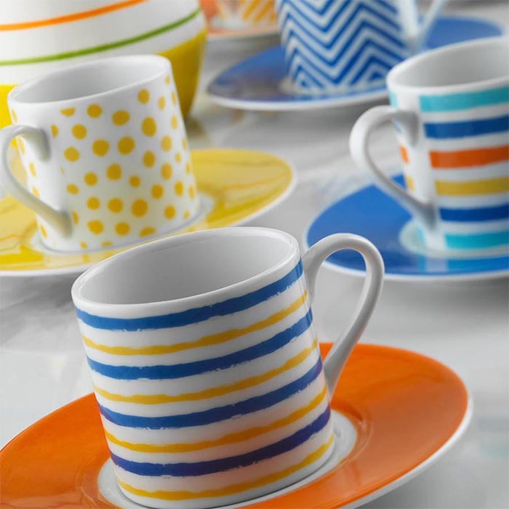 Kütahya Porselen Rüya 12 Parça Kahve Fincan Seti