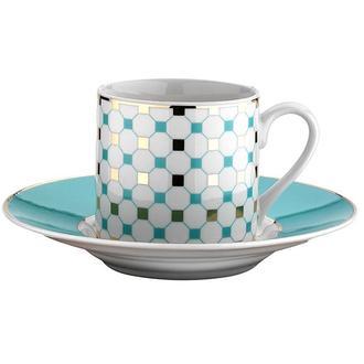 Kütahya Porselen 7697/14 Rüya 12 Parça Kahve Fincan Seti