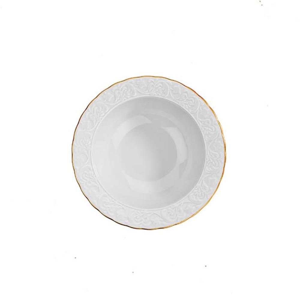 Kütahya Porselen Başak Fileli 24 Parça Yemek Takımı