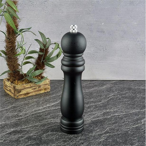 Tohana Ahşap Değirmen - Siyah - 21 cm