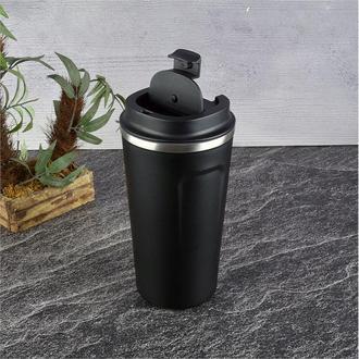 Tohana Çelik Termos-Siyah/500 ml