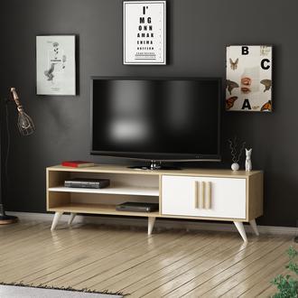 Minar Artera Tv Ünitesi - Safir Meşe/Beyaz