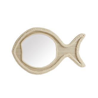 Q-Art Balık Şeklinde Dekoratif Ayna