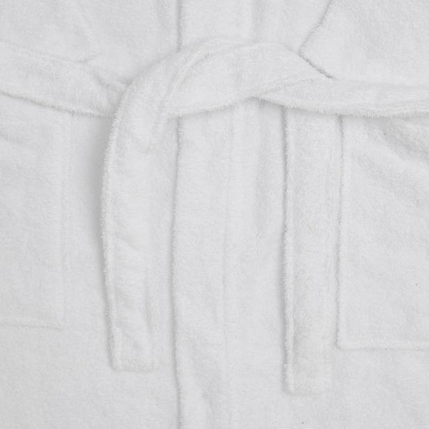 Nuvomon Kadın Kimono Bornoz - Beyaz - S / M