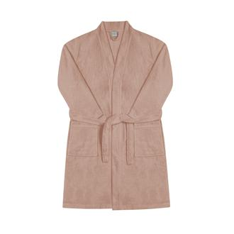 Nuvomon Kadın Kimono Bornoz - Pudra - L/XL