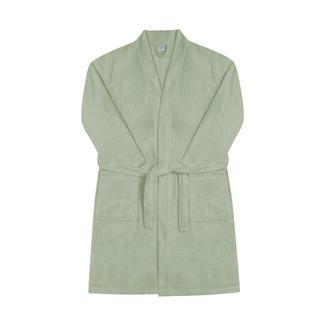 Nuvomon Kadın Kimono Bornoz - Yeşil - L/XL