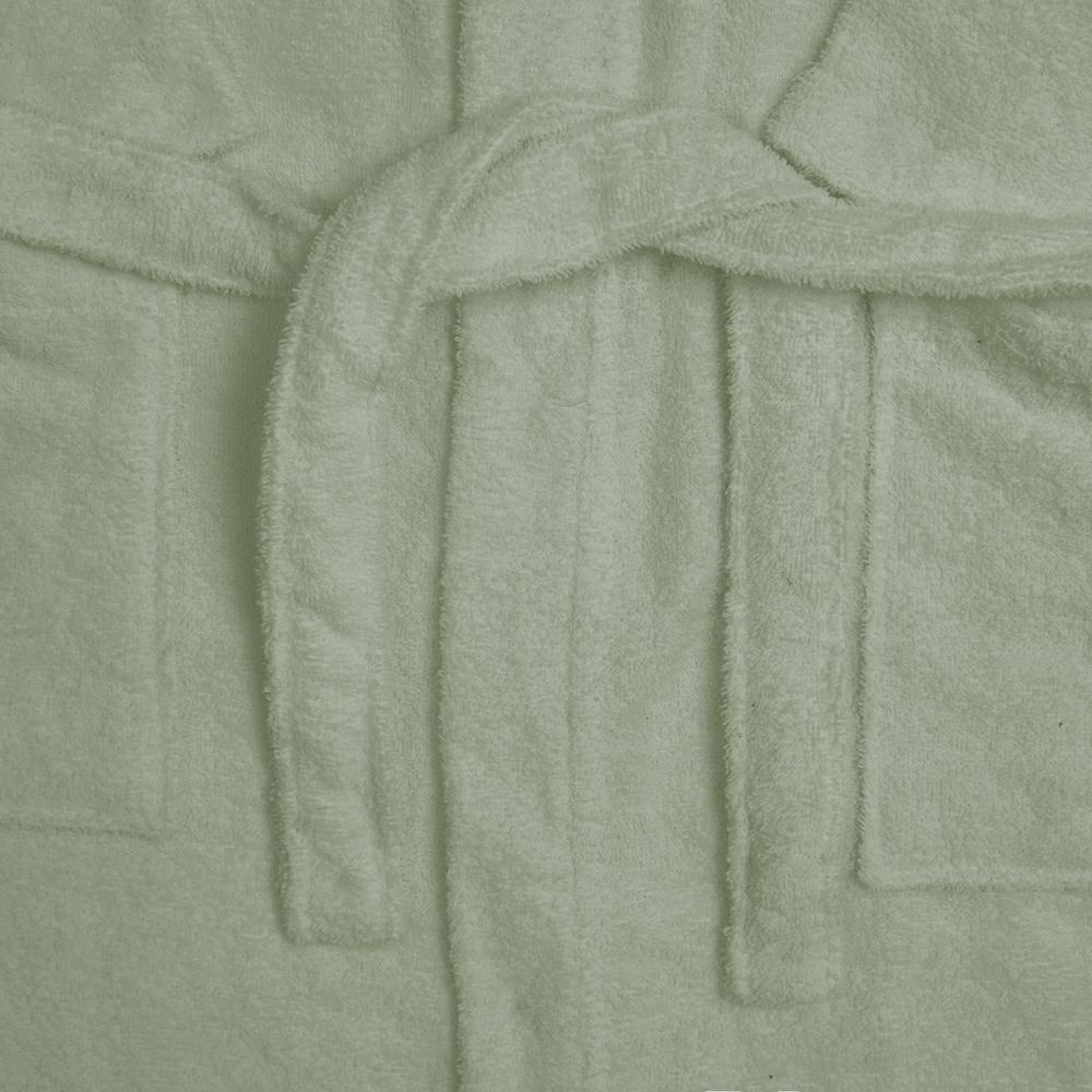 Nuvomon Kadın Kimono Bornoz - Yeşil - L / XL