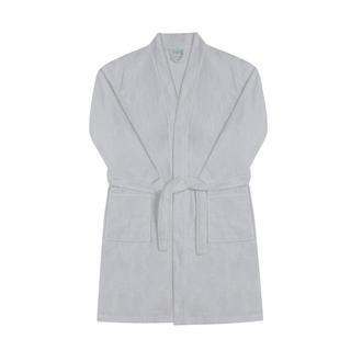 Nuvomon Erkek Kimono Bornoz - Gri - L / XL